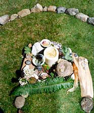 The labyrinth altar